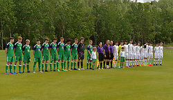 United Park Westport during the Republic of Ireland Northern Ireland tie as part of  U16 Uefa development tournament.<br /> Pic Conor McKeown