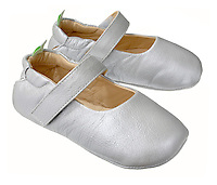 tip toe joey baby shoes mary jane style in white leather