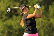 Hannah Jun during the first round of the Symetra Tour Championship at LPGA International on Sept. 26, 2013 in Daytona Beach, Florida. <br /> <br /> <br /> ©2013 Scott A. Miller