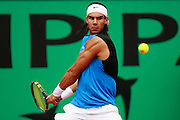Roland Garros. Paris, France. June 3rd 2006..Rafael Nadal against Paul-Henri Mathieu. .