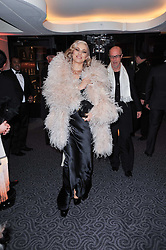 IMMODESTY BLAISE at Quintessentially's 10th birthday party held at The Savoy Hotel, London on 13th December 2010.
