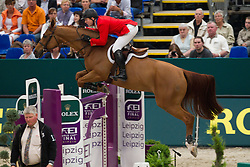 Ward Mclain (USA) - Rothchild<br /> First qualifier <br /> Rolex FEI World Cup Final Leipzig 2011<br /> © Dirk Caremans