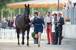 Hannon Lydia, (GBR), My Royal Touch<br /> First Horse Inspection <br /> CCI4* Luhmuhlen 2016 <br /> © Hippo Foto - Jon Stroud