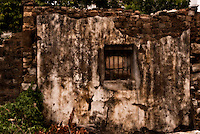 The ruins of an old stone building within Dapeng Fortress, which was built over 600 years ago as a point of protection against Japanese pirates. Dapeng Fortress is great example of a Ming Dynasty military camp, and is best known for being the site of the British naval attacks of September 4, 1839 (considered the beginning of the Opium Wars).