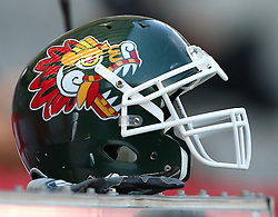 10.07.2011, Tivoli Stadion, Innsbruck, AUT, American Football WM 2011, Group A, Mexico (MEX) vs Australia (AUS), im Bild Feature with Mexican Helmet // during the American Football World Championship 2011 Group A game, Mexico vs Australia, at Tivoli Stadion, Innsbruck, 2011-07-10, EXPA Pictures © 2011, PhotoCredit: EXPA/ T. Haumer