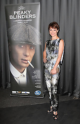 © Licensed to London News Pictures. 21/08/2013, UK. Helen McCrory, Gala Screening of episode 1 of new BBC Two gangster drama 'Peaky Blinders', BFI Southbank, London UK, 21 August 2013. Photo credit : Richard Goldschmidt/Piqtured/LNP