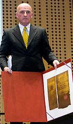 Branko Franc Oblak at 45th Awards of Stanko Bloudek for sports achievements in Slovenia in year 2009, on February 9, 2010, Brdo pri Kranju, Slovenia.  (Photo by Vid Ponikvar / Sportida)