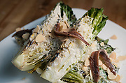 Caesar salad with anchovies and toasted almonds at Boar and Barrel in Madison, WI on Thursday, May 16, 2019.