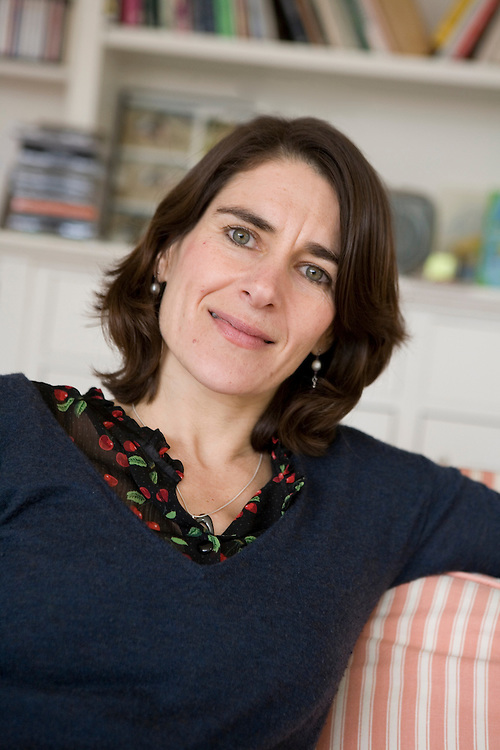 Esther Freud, daughter of Lucian Freud, at home in Highgate, London, 2009, for French publisher Albin Michel