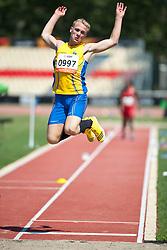 JONSSON Tobias, SWE, Long Jump, T13, 2013 IPC Athletics World Championships, Lyon, France
