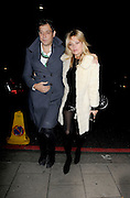 16.JANUARY.2012 LONDON<br /> <br /> BIRTHDAY GIRL KATE MOSS AND HUSBAND JAMIE HINCE ENJOY A NIGHT OUT TO CHINA TANG IN CENTRAL LONDON TO CELEBRATE KATE'S 38TH BIRTHDAY.<br /> <br /> BYLINE: EDBIMAGEARCHIVE.COM<br /> <br /> *THIS IMAGE IS STRICTLY FOR UK NEWSPAPERS AND MAGAZINES ONLY*<br /> *FOR WORLD WIDE SALES AND WEB USE PLEASE CONTACT EDBIMAGEARCHIVE - 0208 954 5968*