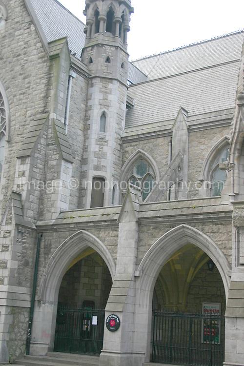Dublin Tourism based in a converted church, tourist office, Suffolk Street, Dublin, Ireland