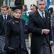 LUX/Luxemburg/20190504 -  Funeral<br /> of HRH Grand Duke Jean, Uitvaart Groothertog Jean, Margareta en partner prins Radu van Roemenie