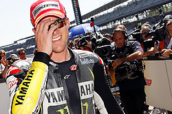 28.08.2010, Motor Speedway, Indianapolis, USA, MotoGP, Red Bull Indianapolis Grand Prix, im Bild Ben Spies - Monster Tech 3 Yamaha team, EXPA Pictures © 2010, PhotoCredit: EXPA/ InsideFoto/ Semedia *** ATTENTION *** FOR AUSTRIA AND SLOVENIA USE ONLY!