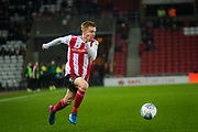 Duncan Watmore of Sunderland FC during the EFL Sky Bet League 1 match between Sunderland and Burton Albion at the Stadium Of Light, Sunderland, England on 26 November 2019.