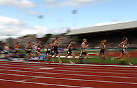 Runners compete during the 1500m final during day 10 of the U.S. Olympic Trials for Track & Field at Hayward Field in Eugene, Oregon, USA 1 Jul 2012..(Jed Jacobsohn/for The New York Times)....