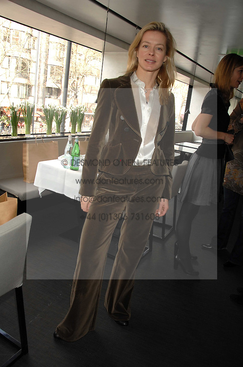 LADY HELEN TAYLOR at a lunch to celebrate the launch of the Top Tips for Girls website (toptips.com) founded by Kate Reardon held at Armani, Brompton Road, London on 5th March 2007.<br />