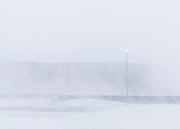 Snow Blizzard in Reykjavik march 6th 2013
