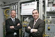 Mannheim. Server und High-Tech Glasfaser betriebene Servereinheiten. Die MAnet GmbH der MVV Energie AG bietet Großkunden glasfasergestützte Netzwerke<br /> Bereit für den Mannheim Marathon. Die Servereinheiten wurden für mehr Traffic aufgerüstet.<br /> Bild: Markus Proßwitz<br /> ++++ Archivbilder und weitere Motive finden Sie auch in unserem OnlineArchiv. www.masterpress.org ++++