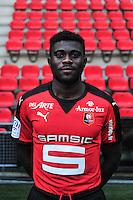 Jeremy Boga - 15.09.2015 - Photo officielle Rennes - Ligue 1 2015/2016<br /> Photo : Philippe Le Brech / Icon Sport
