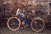 old bicycle, Tangier Island Virginia<br />