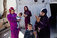 Flygtningelejr i Jeb Jenin. Hawiya Mohammad, 70 &aring;r og datteren Mariam Mohammad.<br /> <br /> <br /> Refugee settelment in Jeb Jenin.