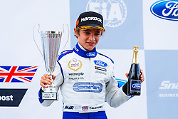 Lando Norris finishes 2nd | #31 Carlin | MSA Formula Championship | Race 1 - Mandatory byline: Rogan Thomson/JMP - 07966 386802 - 08/08/2015 - MOTORSPORT - Snetterton Circuit - Norwich, England - BTCC Meeting Day 1.