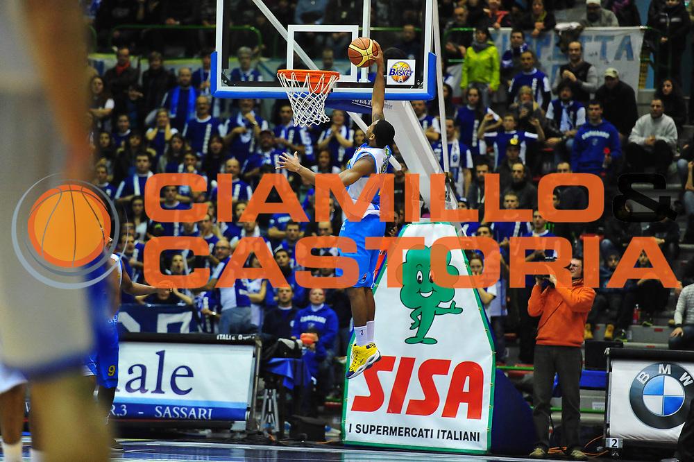 DESCRIZIONE : SASSARI LEGA A 2011-12 DINAMO SASSARI - VANOLI BRAGA CREMONA<br /> GIOCATORE : NOME COGNOME<br /> SQUADRA : DINAMO SASSARI - VANOLI BRAGA CREMONA<br /> EVENTO : CAMPIONATO LEGA A 2011-2012 <br /> GARA :  DINAMO SASSARI - VANOLI BRAGA CREMONA<br /> DATA : 05/02/2012<br /> CATEGORIA : TIRO<br /> SPORT : Pallacanestro <br /> AUTORE : Agenzia Ciamillo-Castoria/M.Turrini<br /> Galleria : Lega Basket A 2011-2012  <br /> Fotonotizia : SASSARI LEGA A 2011-12  DINAMO SASSARI - VANOLI BRAGA CREMONA<br /> Predefinita :