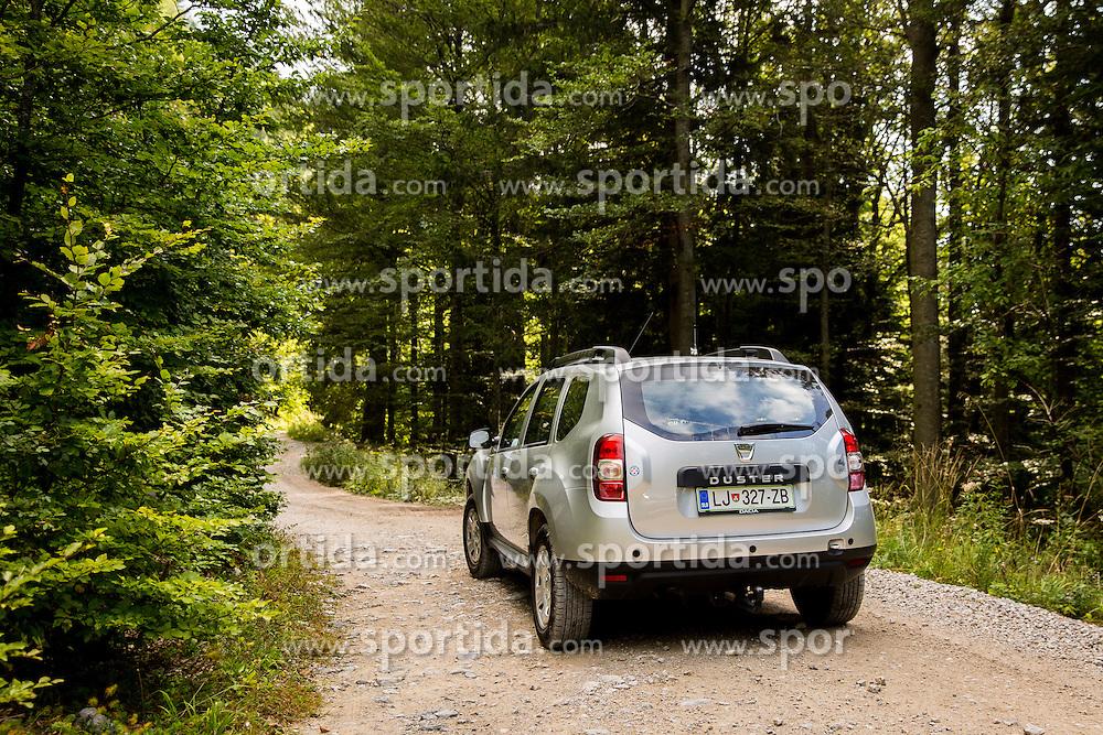 Dacia during Valvasorjev dom pod Stolom - Naj planinska koca 2016, on September 24, 2016, Valvasorjev dom pod Stolom, Slovenia. Photo by Ziga Zupan / Sportida