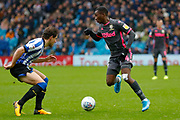 Leeds United forward Edward Nketiah (14), on loan from Arsenal,  during the EFL Sky Bet Championship match between Sheffield Wednesday and Leeds United at Hillsborough, Sheffield, England on 26 October 2019.