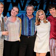 NLD/Den Haag/20111201- Premiere Ramses, Thomas Cammaert, Lideweij Benus, Cindy Bell, William Spaaij en Hans Hoes