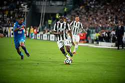 April 22, 2018 - Turin, Piedmont/Turin - Blaise Matuidi durig the Serie A match Juventus FC vs Napoli. Napoli won 0-1 at Allianz Stadium, in Turin, Italy 22nd april 2018 (Credit Image: © Alberto Gandolfo/Pacific Press via ZUMA Wire)