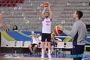 DESCRIZIONE: Torino FIBA Olympic Qualifying Tournament Allenamento<br /> GIOCATORE: Niccolo Melli<br /> CATEGORIA: Nazionale Italiana Italia Maschile Senior Allenamento<br /> GARA: FIBA Olympic Qualifying Tournament Semifinale Allenamento<br /> DATA: 09/07/2016<br /> AUTORE: Agenzia Ciamillo-Castoria