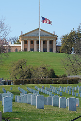 The Arlington Cemetery in Washington DC in the United States. From a series of travel photos in the United States. Photo date: Saturday, March 31, 2018. Photo credit should read: Richard Gray/EMPICS