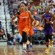 UNCASVILLE, CONNECTICUT- MAY 26: Alyssa Thomas #25 of the Connecticut Sun in action during the Los Angeles Sparks Vs Connecticut Sun, WNBA regular season game at Mohegan Sun Arena on May 26, 2016 in Uncasville, Connecticut. (Photo by Tim Clayton/Corbis via Getty Images)