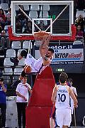 Aristide Landi<br /> Virtus Roma - Novipiu Casale Monferrato<br /> Campionato Basket LNP 2018/2019<br /> Roma 04/11/2018<br /> Gennaro Masi / Ciamillo-Castoria