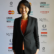 London,England,UK : 20 th June 2016 : Dr. Julia Fan Li at the London Technology Week 2016 opening press day at The Yard,Worship Street, London. Photo by See Li