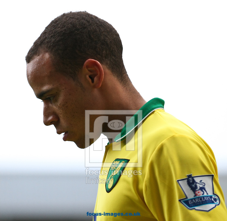 Picture by David Horn/Focus Images Ltd +44 7545 970036.26/01/2013.Elliott Bennett of Norwich City looks dejected during the The FA Cup match at Carrow Road, Norwich.