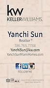 Yanchi Sun, Miami Realtor [by Maria Rock Photography]