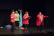 The Chuffinelles performing at In praise of an English radical - A Celebration of Linda Smith, Lyceum Theatre Sheffield.