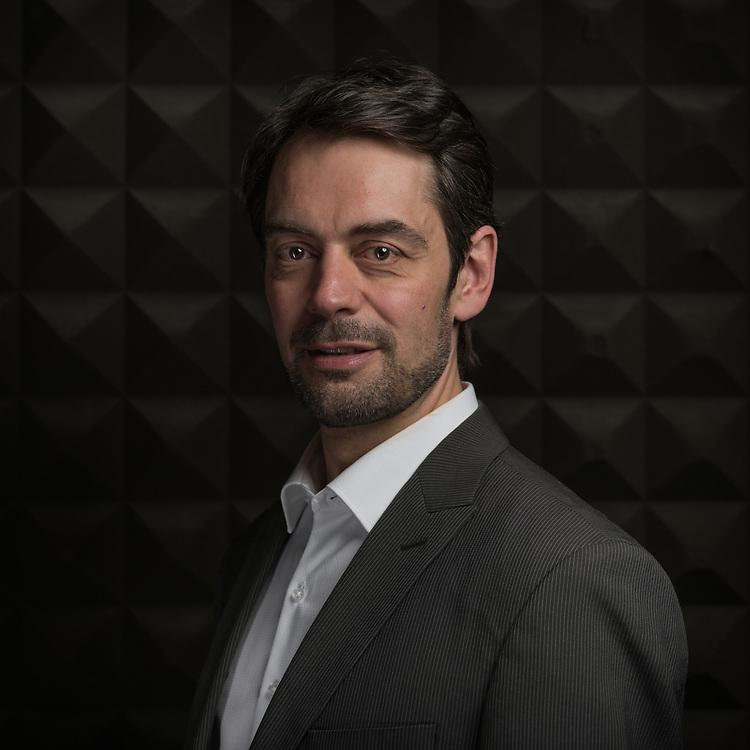 Pascal Crittin, nouveau directeur de la RTS. Lausanne, 6 avril 2017.