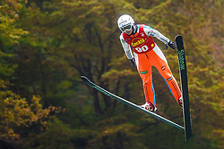 Eva Logar during national competition in Ski Jumping, 8th of October, 2016, Kranj,  Slovenia. Photo by Grega Valancic / Sportida