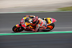 May 23, 2018 - Barcelona, Spain - Marc Marquez (Honda) during the Moto GP test in the Barcelona Catalunya Circuit, on 23th May 2018 in Barcelona, Spain. (Credit Image: © Joan Valls/NurPhoto via ZUMA Press)