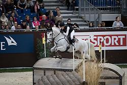 Bodenmuller Eveline, SUI, Waldmann<br /> Cross Indoor presented by Rolex<br /> CHI de Genève 2016<br /> © Hippo Foto - Dirk Caremans<br /> 10/12/2016