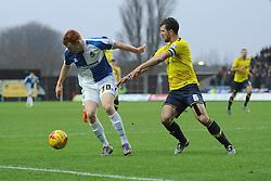 Rory Gaffney of Bristol Rovers - Mandatory byline: Alex James/JMP - 17/01/2016 - FOOTBALL - The Kassam Stadium - Oxford, England - Oxford United v Bristol Rovers - Sky Bet League Two