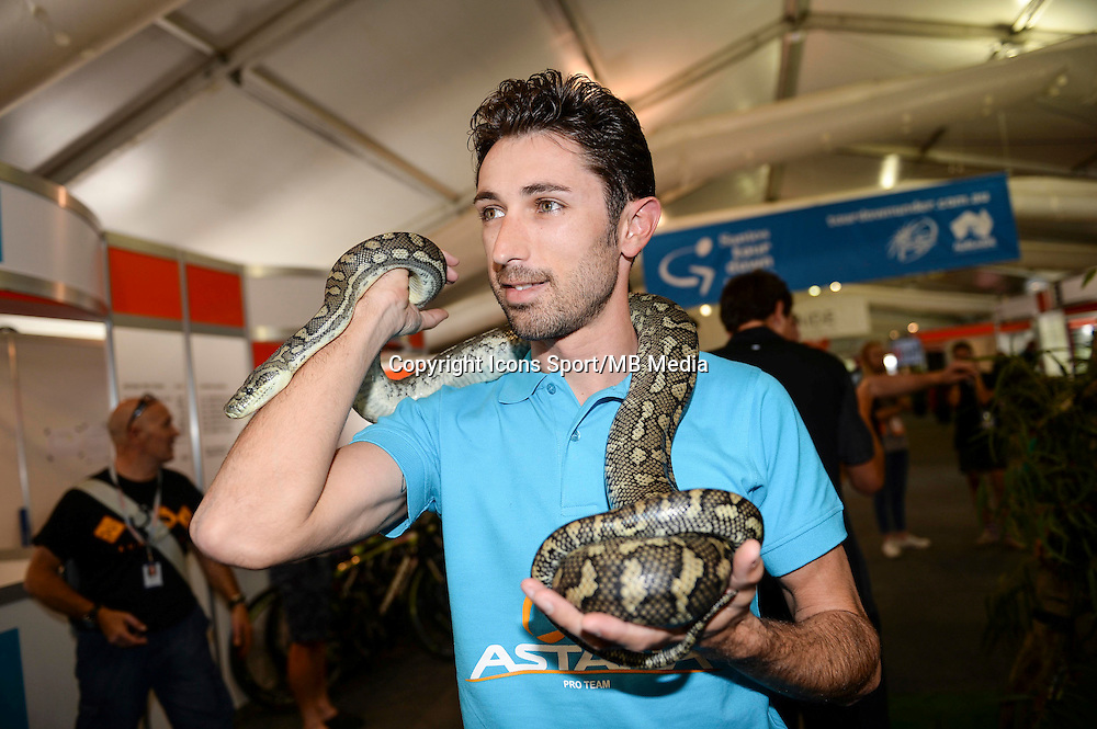 Cataldo Dario - astana - 18.01.2015 - Tour Down Under -<br /> Photo : Sirotti / Icon Sport