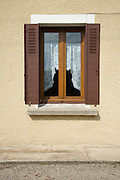window of a domestic house seen from the outside