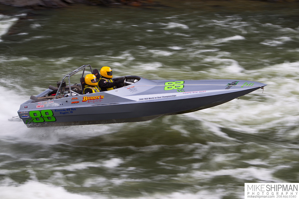 Salmon River Jet Boat Race, Riggns, Idaho
