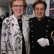 Seattle Opera Donors backstage at Madama Butterfly May 19, 2012.