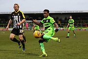 Forest Green Rovers Reece Brown(10) during the EFL Sky Bet League 2 match between Forest Green Rovers and Notts County at the New Lawn, Forest Green, United Kingdom on 9 February 2019.